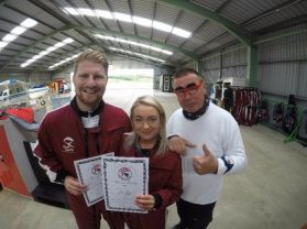 Louise and Mike's Sky Dive