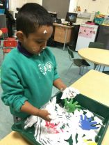 Sensory play is our favourite.