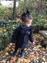 Nursery out exploring the Nature trail