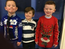 Merry Christmas from Class 5!